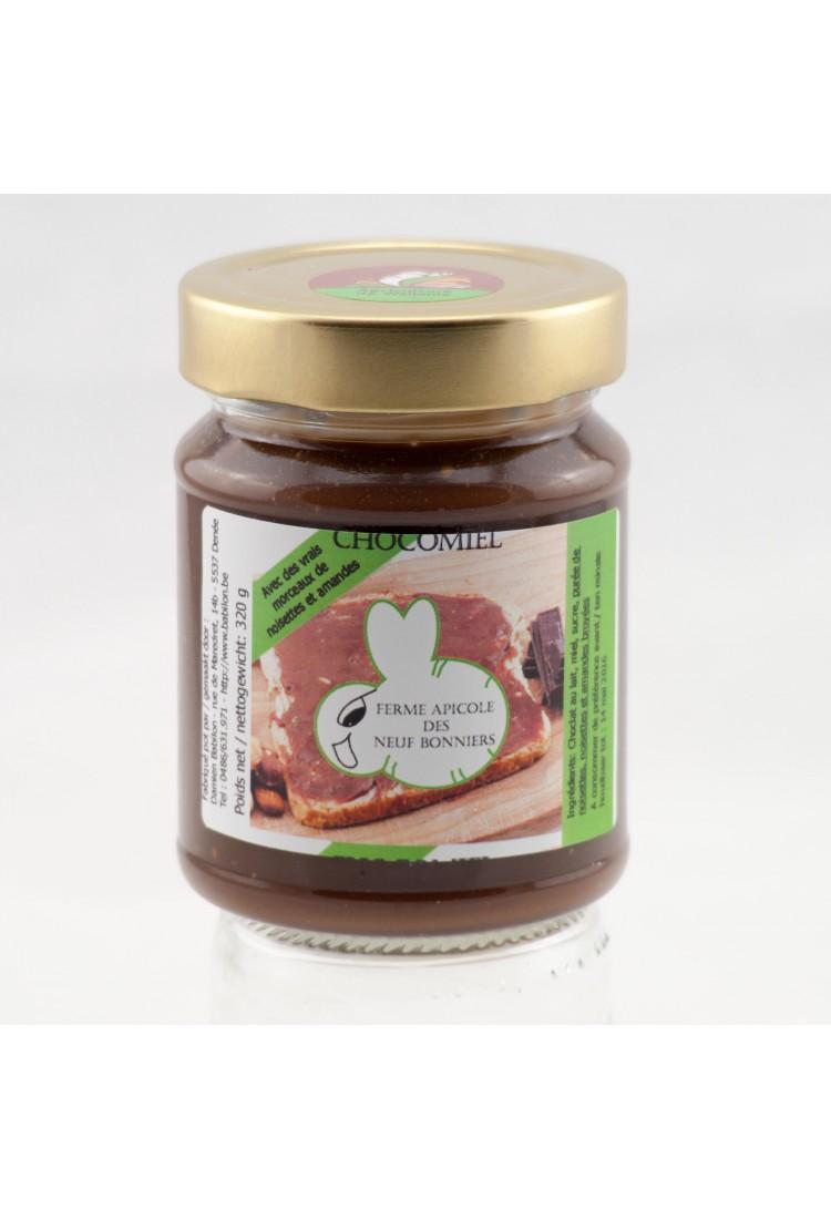 Choco honing (met zwarte chocolade)